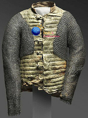 Medieval Armour Chainmail Voiders 06Mm Round Riveted With Flat Washer