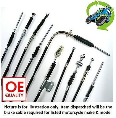 New Yamaha DT 125 A 1974 (125 CC) - Hi-Quality Front Brake Cable