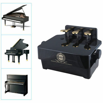 New  Piano Pedal Extender Adjustable Height Piano Foot Pedal +3 Pedals For Kids