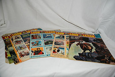 LOOK AND LEARN Joblot 10 1964 Issues 140-149, Children's Educational