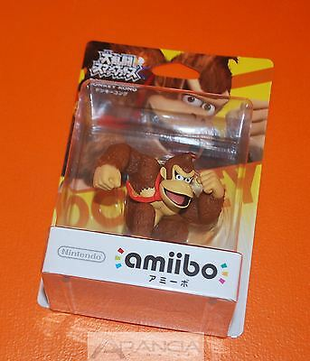 Amiibo Donkey Kong Super Smash Bros Brand New