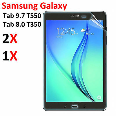 HD Clear Screen Protector Film Guard for Samsung Galaxy Tab A 9.7 T550 SM-T550