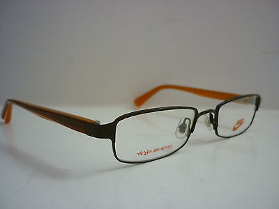 Nike 8005/211 Brown / Orange Designer Glasses Frames Designer Eye Glasses