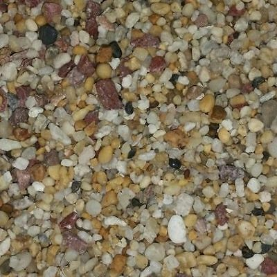 Fish tank aquarium terrarium natural gravel pebbles NATURAL 2.5kg FAST POSTAGE