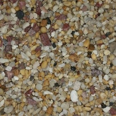 Fish tank aquarium terrarium natural gravel pebbles NATURAL 4.75kg FAST POSTAGE