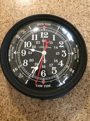 Seth Thomas Wall Clock Vintage Nautical Ride Military Time Quartz