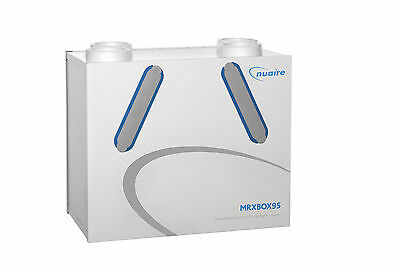 Upto 95% Heat Recovery Unit Nuaire MRXBOX95AB-WM1 Whole House MVHR System