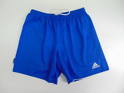 2012 Adidas blue Men's shorts retro soccer football running training vintage L