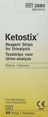 Ketostix Strips Reagent for Urinalysis Ketone 50 Test **Free Delivery**