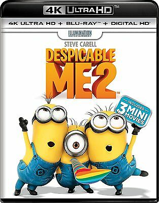 Despicable Me 2 (4K Ultra HD)(UHD)(DTS:X)(Dolby Vision)