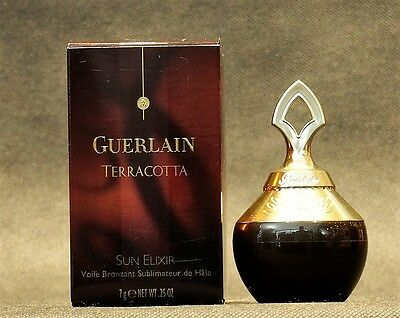 TERRACOTTA GUERLAIN SUN ELIXIR N°02  POWDER FACE AND BODY 7g/NET WT .25 OZ.