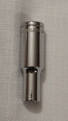 "8Mm Deep Socket 3/8"" Drive 6Pt Blackhawk Hw-1508M Chrome"