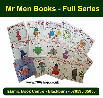 Islamic Story Book ( Mr Men Books Brother & Little Sisters ) Dhikarville (New)