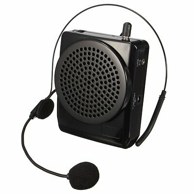 Portable Voice Amplifier 20W Booster Speaker Megaphone With Comfortable Headset