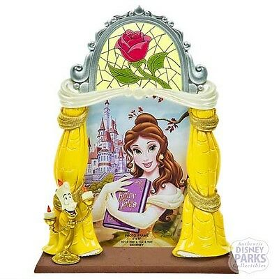 Disney Parks Beauty and the Beast Photo Frame - Belle Lumiere & Rose