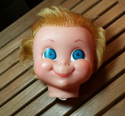 Vintage 1967 Mrs. Beasley Doll Head Only from Family Affair TV Show Mattel