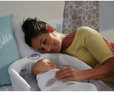 Newborn Infant Baby Portable Snuggle Nest Sorround Secure Folding Bed Sleeper