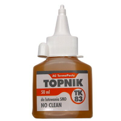 SMD NO CLEAN TK83 Soldering Flux - Oiler 50ml - Medium Activity