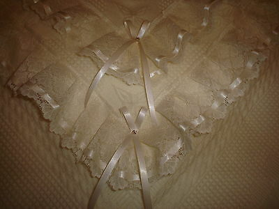 Beautiful IVORY baby christening shawl ***NEW***