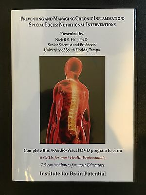 Preventing and Managing Chronic Inflammation 4 DVD Institute for Brain Potential