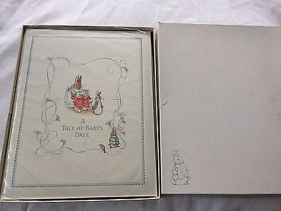 Beatrix Potter Peter Rabbit A Tale Of Baby's Days Baby Memory Record Book