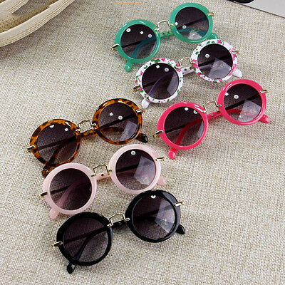 ANTI-UV Glasses Candy Colors Boys Girls Children Round Sunglasses Eyewear Hot