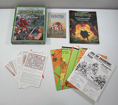 THE RUINS OF MYTH DRANNOR Boxed Set Forgotten Realms D&D TSR 1993
