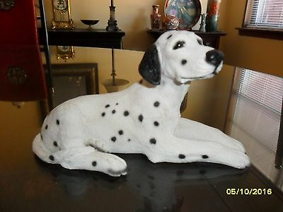 """Vintage Dalmation Figurine Made In Italy 6"""" Long **beautiful!**"""