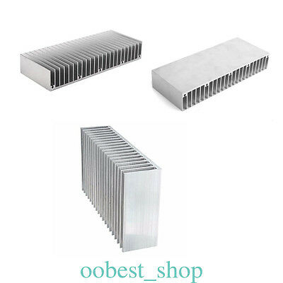 Extruded Aluminum Heatsink 60mm x 150mm x 25mm for Project or LED Application OB