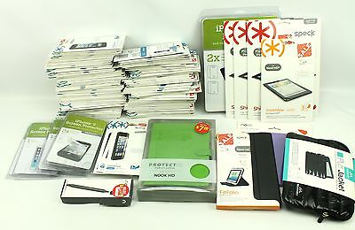 Large Mixed Assorted Lot Cell Phone Accessories Screen Protector