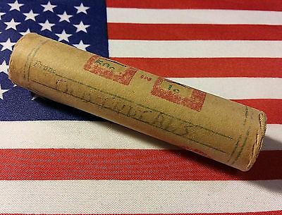 *1859-1909* Indian Head Cent Penny Roll * Lot Of 50 Indian Heads * Unsearched