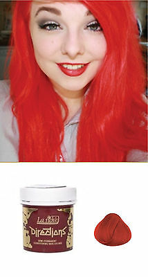 La Riche Directions Semi Permanent Hair Color Dye Free Shipping NEW - Coral Red
