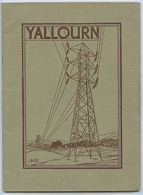 1932 Promotional Booklet Yallourn Power Station Sec Victoria Good Condition F26
