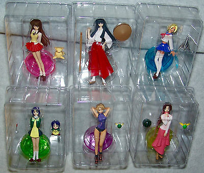 NEW Love Hina 6 Figure LE DVD SET Release  Naru Narusegawa USA Seller RARE OOP