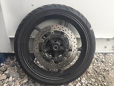 Yamaha FZ6 Fazer2 2007 Front wheel with Tyre and brake disc