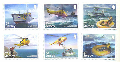 Jersey-RAF Search & Rescue set mnh 2016-Aviation-Helicopters