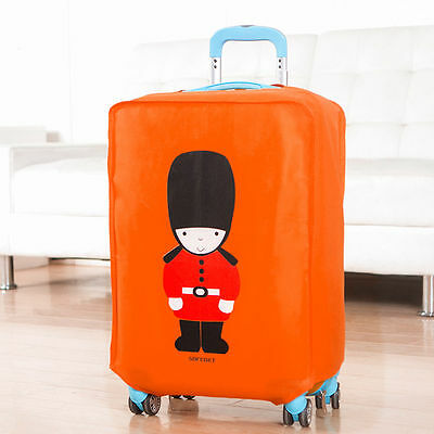 Queen's Guard Travel Luggage Suitcase Protective Cover Anti-Dust Handbag Pouch