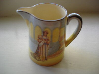 ANTIQUE VINTAGE PORCELAIN CHINA ROYAL DOULTON KATHARINE SHAKESPEARE mini JUG