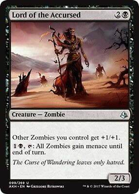 MTG Magic - (U) Amonkhet - Lord of the Accursed - NM/M