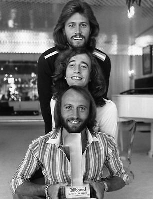 The Bee Gees Glossy Black & White Publicity Photo Music Picture Print A4