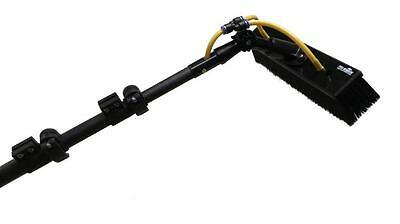 40 ft Light Weight 100% Carbon Fibre Water Fed Pole - Window Cleaning Brush