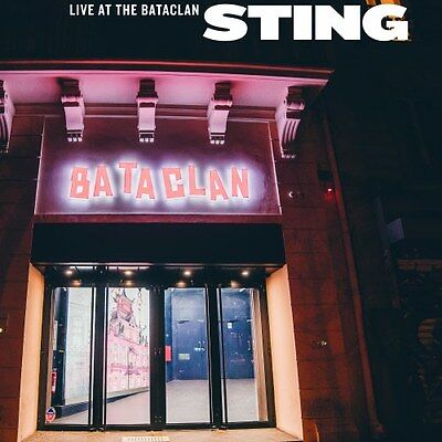 STING Live At The Bataclan LP Limited Record Store Day 2017 New