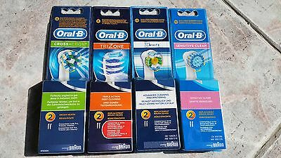 Brossettes Oral B 2 Packs