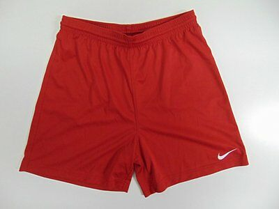 2000 2010 Nike red Men's shorts retro soccer football running vintage