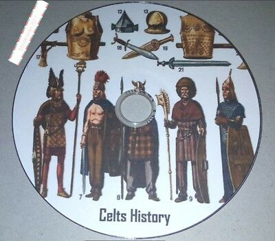 ebooks, 50 of The Celts History genealogy in kindle epub & pdf on disc for PC +