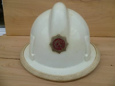 Vintage Old South Australia Country Fire Service, Firefighting Helmet, Hat (E472