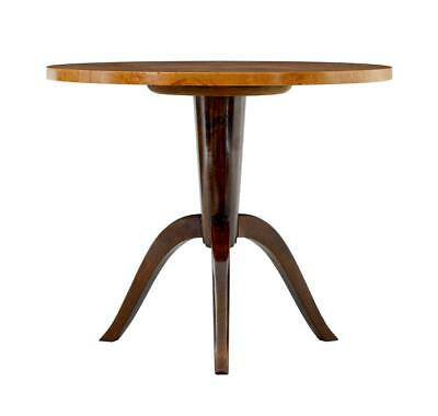 1950's LATER DECO SWEDISH BIRCH OCCASIONAL TABLE