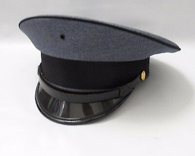 Bayly Inc Fire Police Cadet Driver Dress Cover Hat Blue Size Large 7 1/5 - 7 3/8