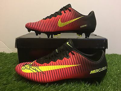 Charlie Austin's Player Issued Nike Mercurial Vapor Signed Not Match Worn Boots