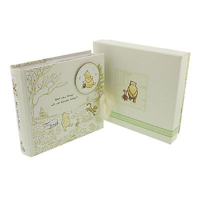 Classic Disney Winnie The Pooh Photo Album Newborn Baby Christening Picture Gift
